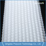 White Polycore PC Honeycomb PC6.0 UV Protection 0.5mm Polycarbonate Sheet