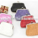 New !Wholesales Customized cute lucky bear pattern PU clutch purse clasp wallet[China Manufacture]