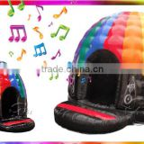 2016 The Newest inflatale disco dome high quality inflatable disco dome bouncy castle jumping castle                                                                         Quality Choice