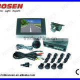 3.5 inch TFT LCD monitor with human voice video parking sensor system