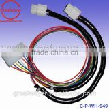 18awg cable 12 way molex pitch 4.2mm black spring protect assembly wire harness