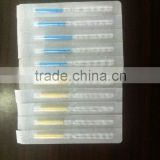 Free shipping!100pcs /box Taihe brand Sterile Acupuncture Needles For Single Use with tube ,zhenjiu acupuncture and moxibustion
