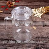 Glass jug, Glass Juice Jug, Glass Water Jug With Lid,1.5L glass Pitcher WHOLESALE
