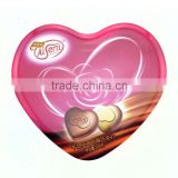 Promotional metal tin can,valentine's day heart shaped tin cans,chocolate tin can