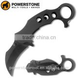 2016 New arrival karambit knife/tactical knife/survival knife/pocket knife with g10 handle