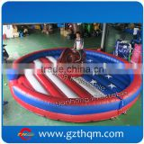 Commercial kids and adult bull riding machine inflatable mechanical bull for sale