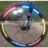 motorcycle bike car bicycle hot wheels reflective stickers wheel rims reflective stickers