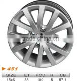"alloy wheel,VW 15""x6.0 451"