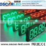 Competitive price high quality 7segment led digita gas station price number programming sign led display