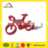 Souvenir Custom Metal Bicycle Keychain Bottle Opener