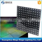 interactive hot sell stage light /Buy wedding portable sensitive led dance floors for sale with 144pixels rechargeable