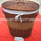 willow fabric laundry basket