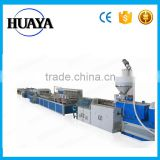 Pvc foam board making machine/wpc foam board extrusion line/production line