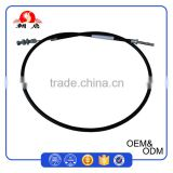 Custom 1070mm Long 2.0mm Diameter Steel Wire Inner Agricultural Machinery Clutch Cables With Nipple