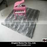 Factory wholesale high quality rabbit fur carpet for home decoration