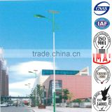 12 meters New Model Energy Saving Solar LED street light poles , hot dip galvanized and powder coated                                                                         Quality Choice