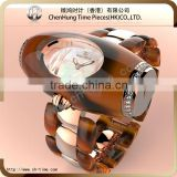 Fashion girls lady low cost watches q&q quartz analog rubber wrist resin fiber bracelet watch