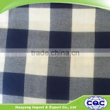 100 cotton melange yarn dyed woven plaid check casual shirt fabric for men kids