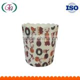 machine-finished high temperature resistant cups for baking cakes / mechanism cupcake paper cups