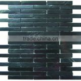 Strip aluminum mosaic tiles'Wall decor'Fctory mosaic Foshan tiles'Building decoration material YX-MA11