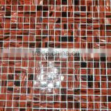 red mix black amber glass mosaic tile iridescent glass tile for glass tile backsplash swimming pool tile