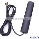 Factory Price 900/1800 MHZ Car GSM Patch Active Antenna 4g wifi patch antenna RG 174 Cable 3M