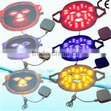 Led Facial Light Therapy Latest 3 Colors Red Light Therapy For Wrinkles Led Mask For Skin Rejuvenation PDT Therapy