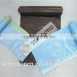 high quality colored trash garbage bag,LDPE recyclable bin bag