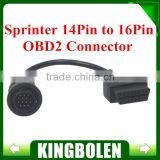 Sprinter 14Pin to 16Pin Adapter Cable Connector Cable sprinter 14 PIN Connector Cable