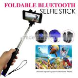 WINSUN World popular Wireless bluetooth monopod selfie stick instructions extendable camera tripod monopod