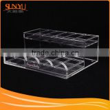 Transparent Acrylic Macaron Stand For Food Display