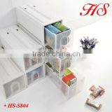 portable plastic organizer storage shelf storage box chest of drawers design storage rack