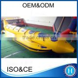 Inflatable banana boat for sale 18ft water boats for kids HLX550