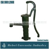 Cast Iron Antique Hand Water Pump for Drinking Water Transfer