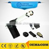 Hand controll micro 24v dc linear actuator with limit switch