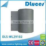 12w 20w 24w CE ip65 aluminum alloy led outdoor up & down fitting led wall pack light