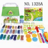 Happy farm set colorful mud toy plasticine clay