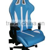 Office Race Chair Racing Seat Leather Office Computer Home Work Sport Chair Lift Swivel PU