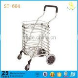 New style seniors shopping trolley, aluminium promotional sale shopping cart