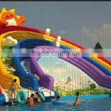 Best price funny commercial inflatable water park amusement park rides slip slide for adult