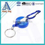 Decorative promotional gifts custom Carabiner Badge Reels