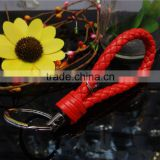 metal color keychain,women's beautiful keychain,pu leather keyrings holder wholesale