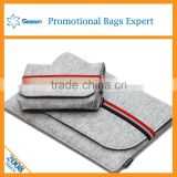 Universal fashion fabric wool felt bag Promotional Design laptop bag