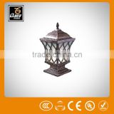 pl 1773 water proof metal stick solar lighting pillar light for parks gardens hotels walls villas