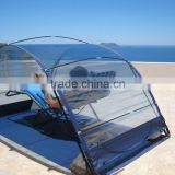 outdoor stretch beach tent sand bag camping Pop up sun proof shade tent inflatable beach tent