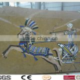 WT-30 China High Quality Egypt style Water Jet Marble Floor Patterns