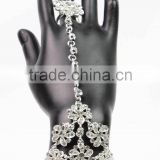Fancy Decorative Crystal Hand Chain Bangel Wholesale for Beach Party