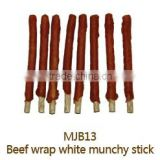 Munchy Stick with Real Beef Dental Stick Dry Pet Snack Dry Pet Food Dog Treat Dog Training Treat