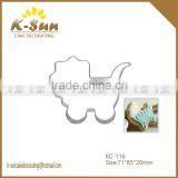 K-sun Wedding Frame Metal Cookie Cutters Biscuits Stainless Steel Tools Kitchen Baking Mould baby stroller reposteria