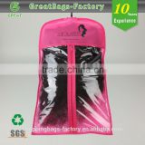 Promotion Black Biodegradable Hair Extensions Storage Hair Bags